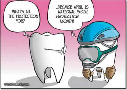 April Is Facial Protection Month Don T Forget New