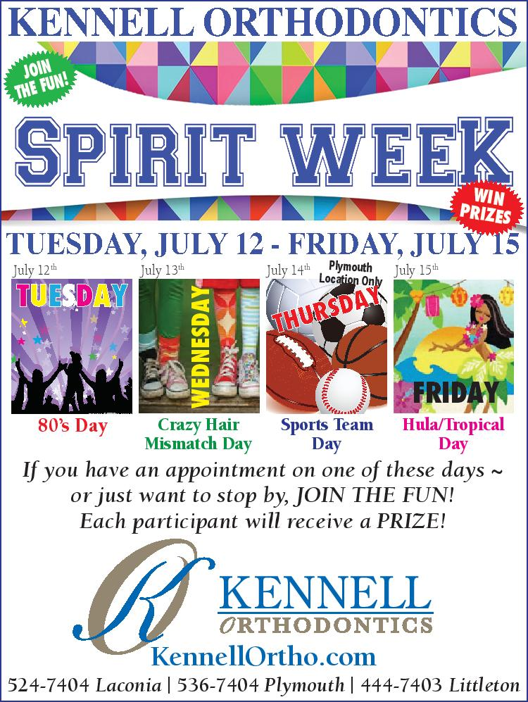 Spirit Week At Kennell Orthodontics Join In On The Fun