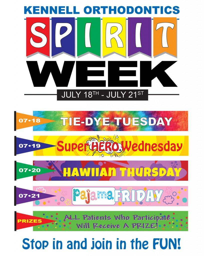 Spirit Week Is Happening In July Get Your Wardrobe Ready