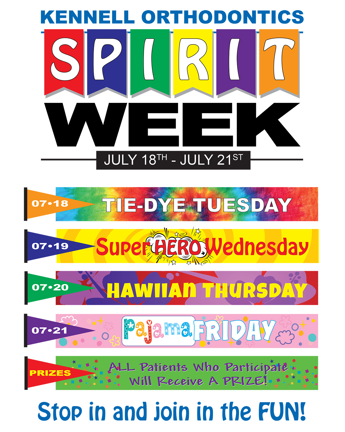 Spirit Week Is Happening In July Get Your Wardrobe Ready