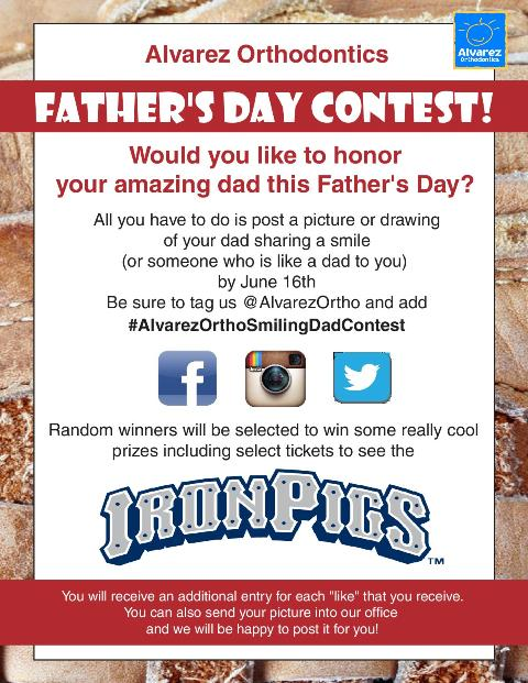Father's Day Contest!