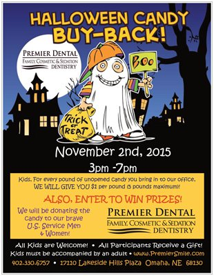 Halloween Candy Buy-Back! - Holiday, Family Dentist, Candy Buy Back Omaha NE