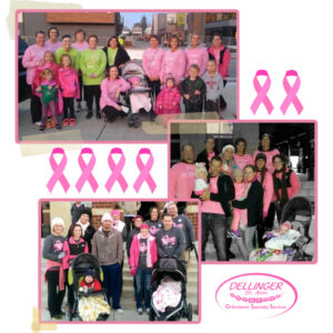 Orthodontic Specialty Services - Dr. Aron Dellinger - Breast Cancer Awareness