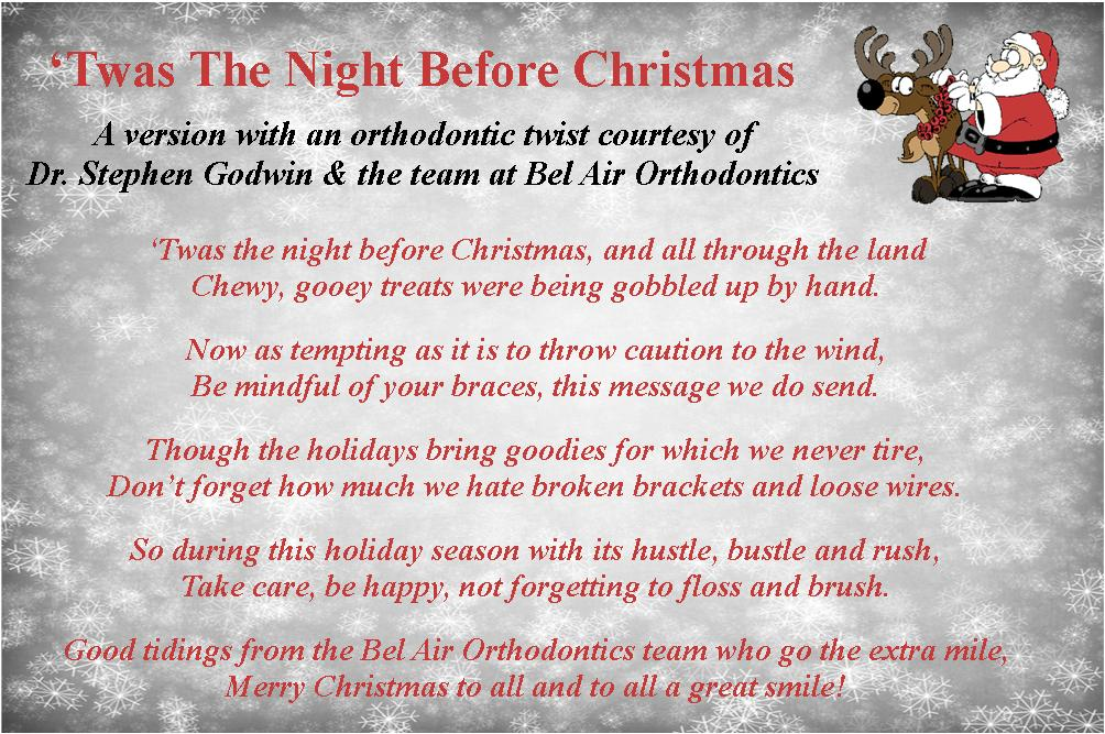 Twas the Night Before Christmas - Our Version of a Holiday Classic
