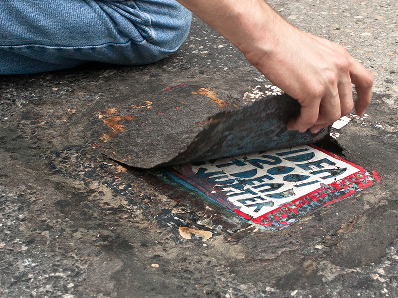 Cleveland Toynbee Tile