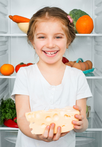 Is dairy crucial to my child's oral health?