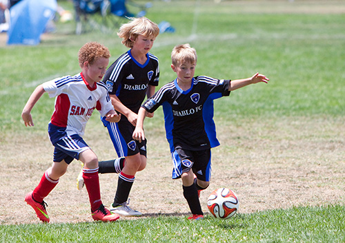 How can I protect my child's teeth during sports?