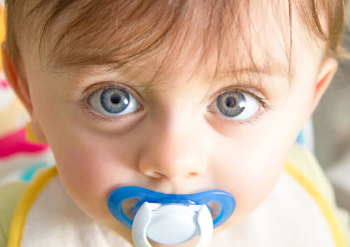 Pacifiers and Your Child's Oral Health