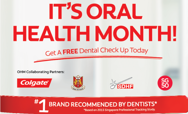 ADA Colgate Team Up For Oral Health Month