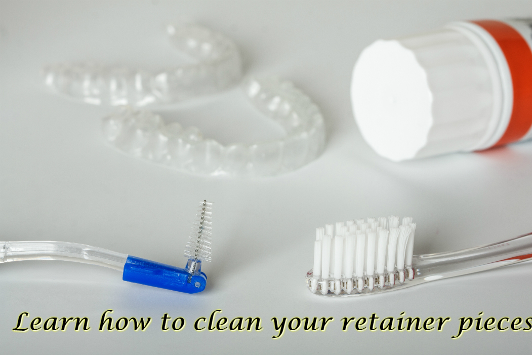 learn how to clean your retainer pieces