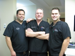 Dr. Zac, Dr. Michael and Dr. Derek Potts