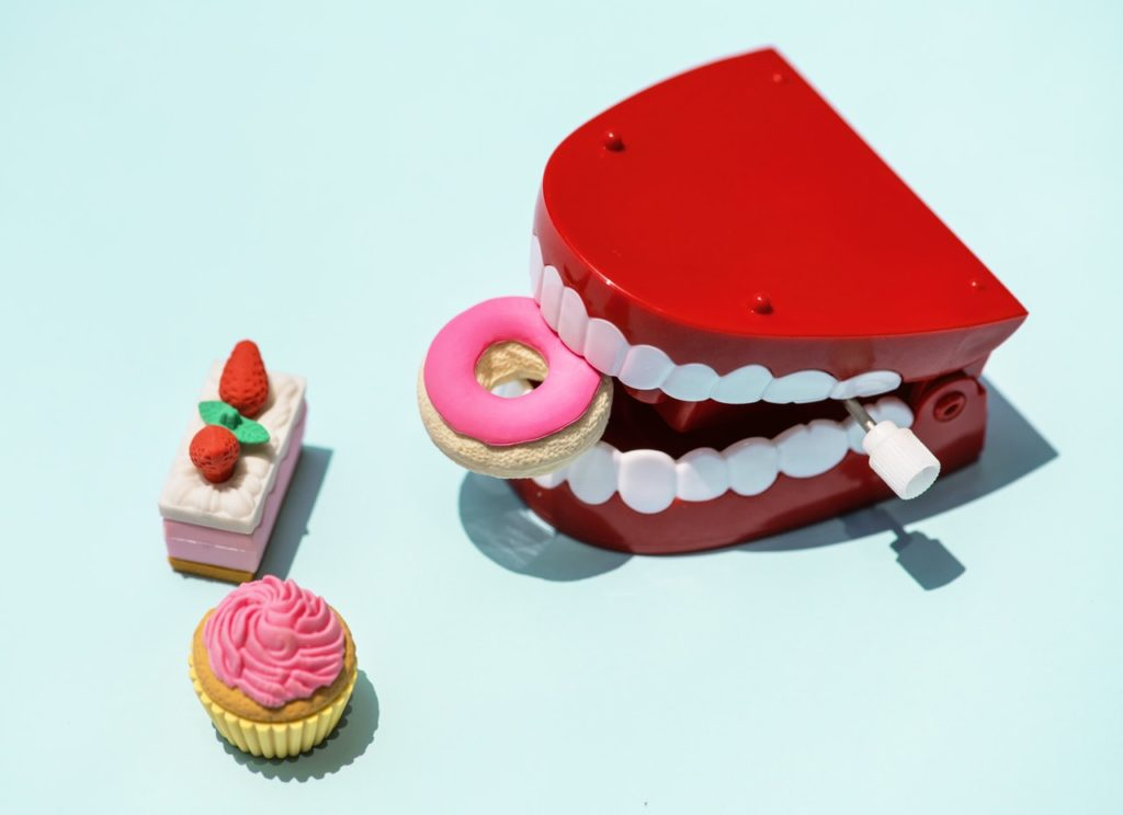 healthy teeth sweets