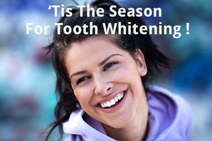 Give Yourself The Gift Of Beautiful White Teeth This Holiday Season