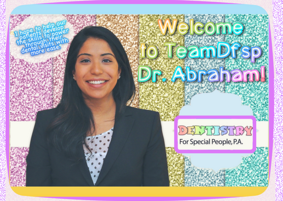 Welcome Dr. Abraham