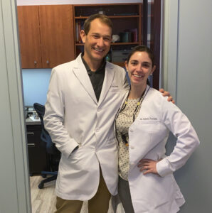 Drs Dan Strobel and Isabella Terrassa