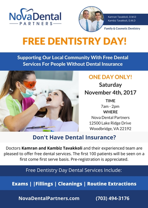 Nova Dental Partners Free Dental Day